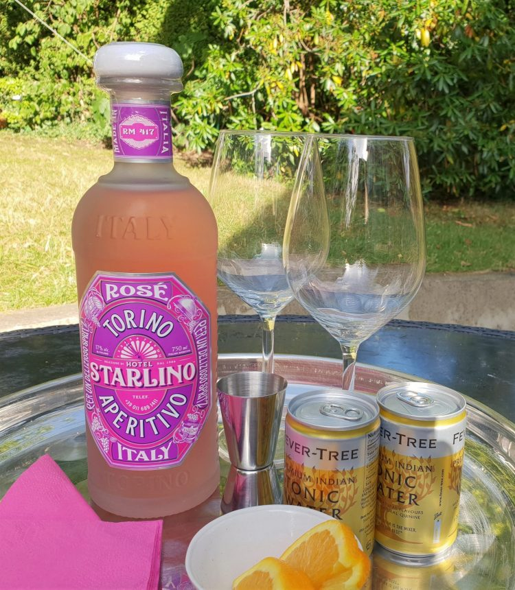 Hotel STARLINO Rose with tonic