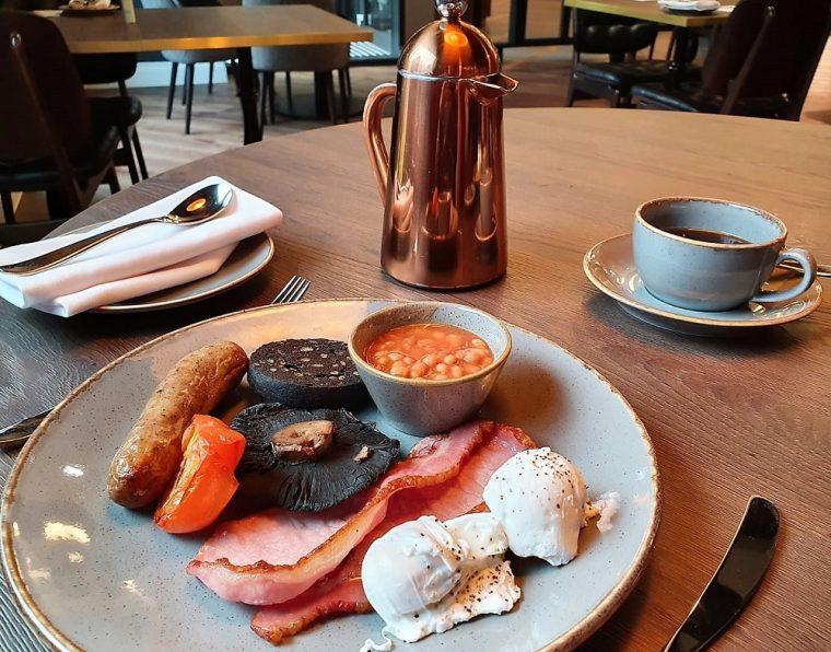 full English Breakfast at Hotel Indigo Chester
