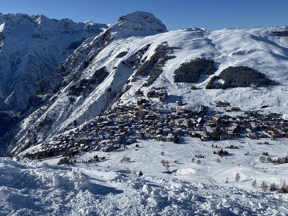 Resort of Les 2 Alpes France