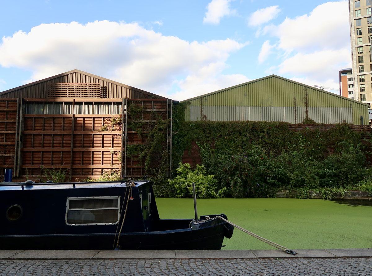 Paddington Basin - Canal Boat