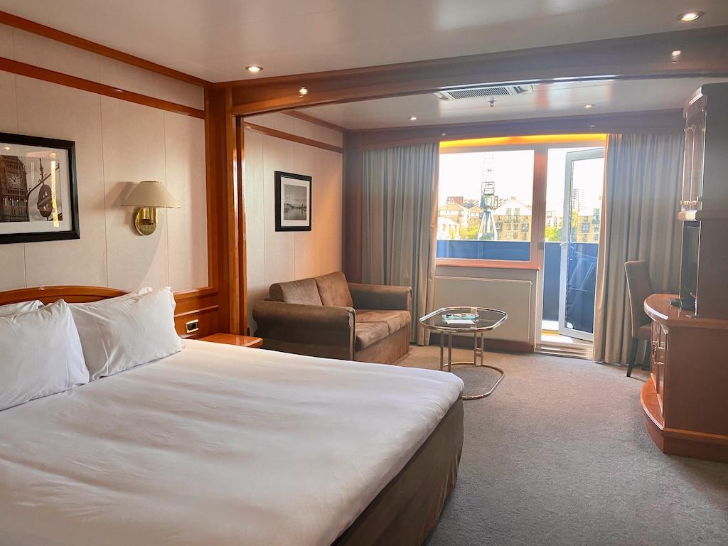 Sunborn Hotel cabin