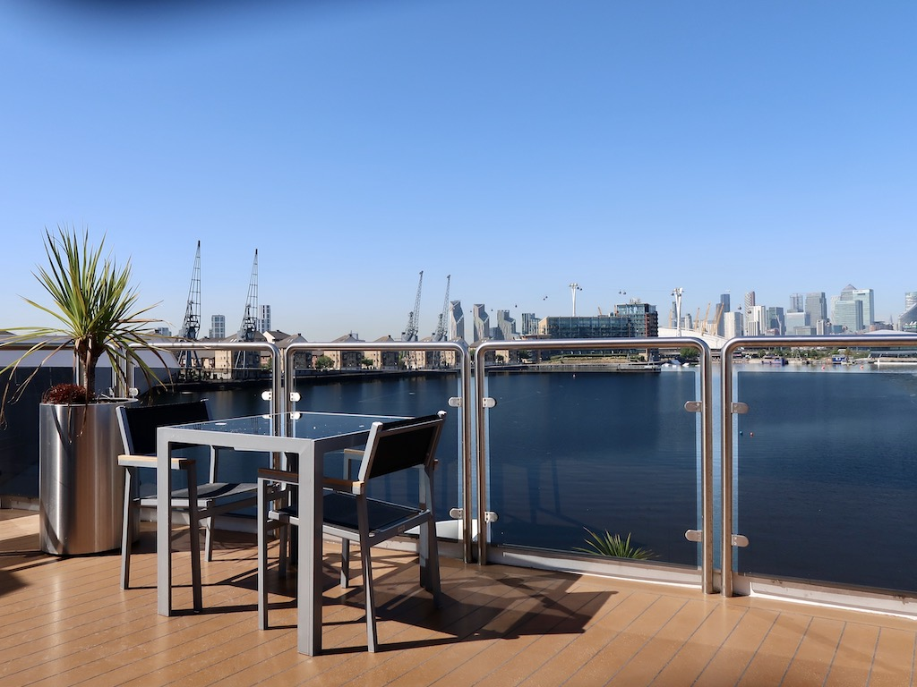 Sunborn Hotel deck view
