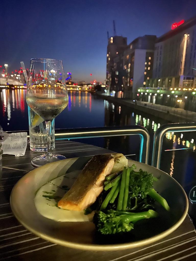 Sunborn Hotel salmon