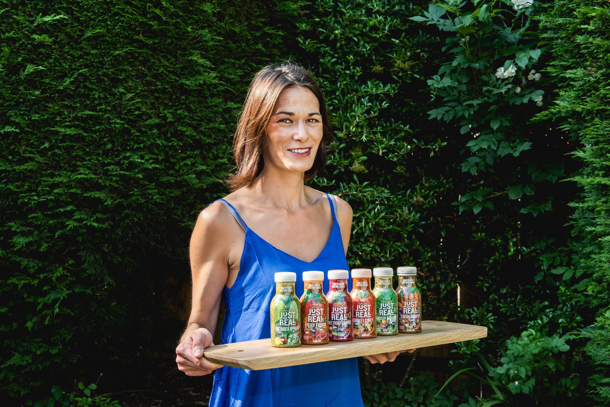 Tanya and the sauces