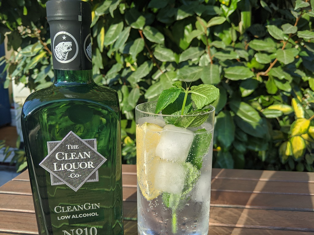 The Clean Liquor Co CleanGin Signature Serve