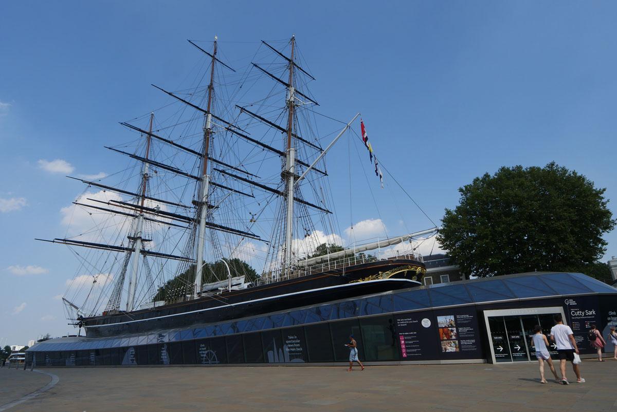 Cutty Sark at Greenwich