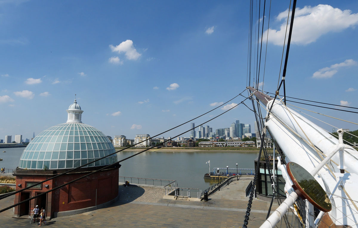 The Thames from Cutty Sark