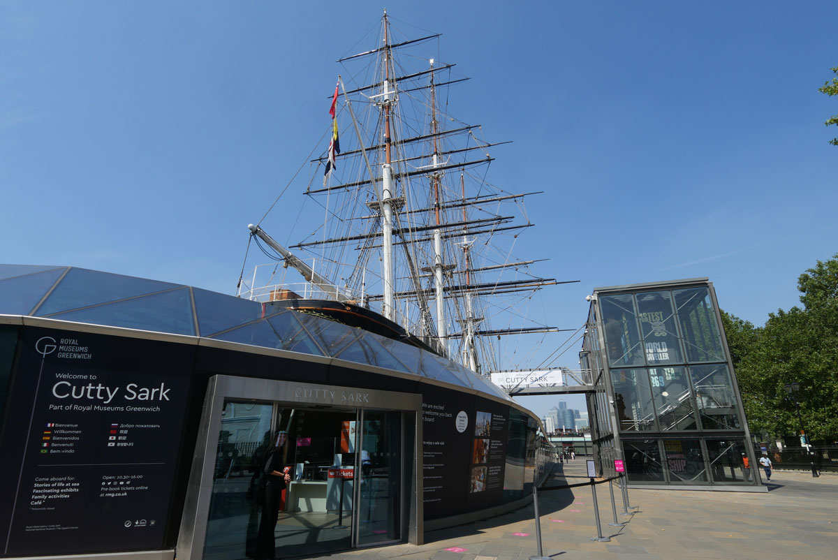 Timed Entrance and Queue - Cutty Sark