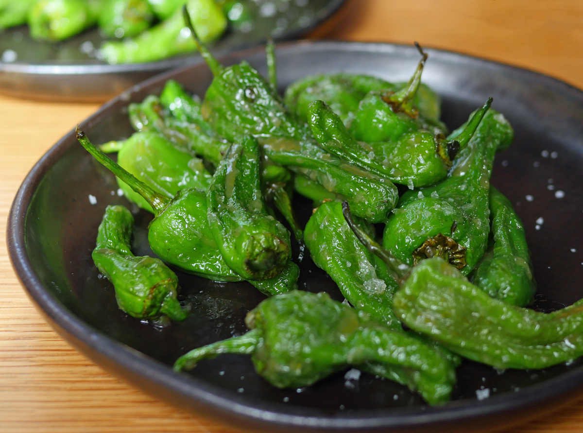 Padron Peppers - Chotto Matte Soho