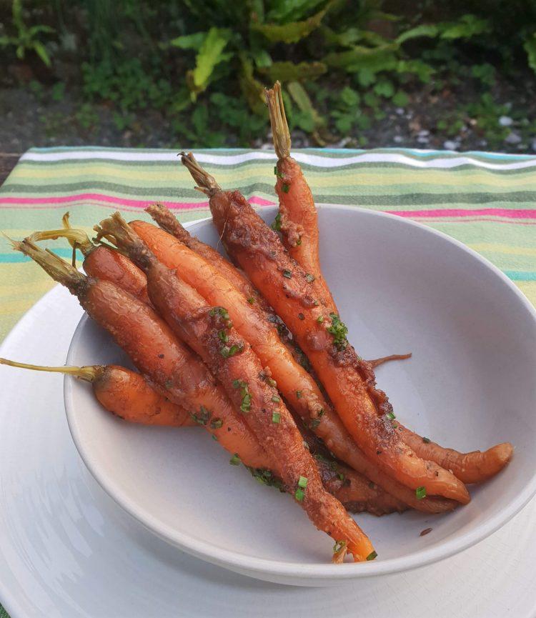 Restaurant Twenty Seven Baby carrots
