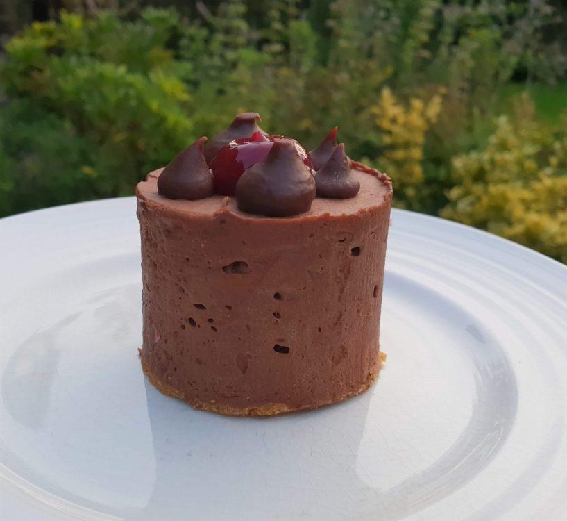 Restaurant Twenty Seven Dark Chocolate and Peanut cheesecake