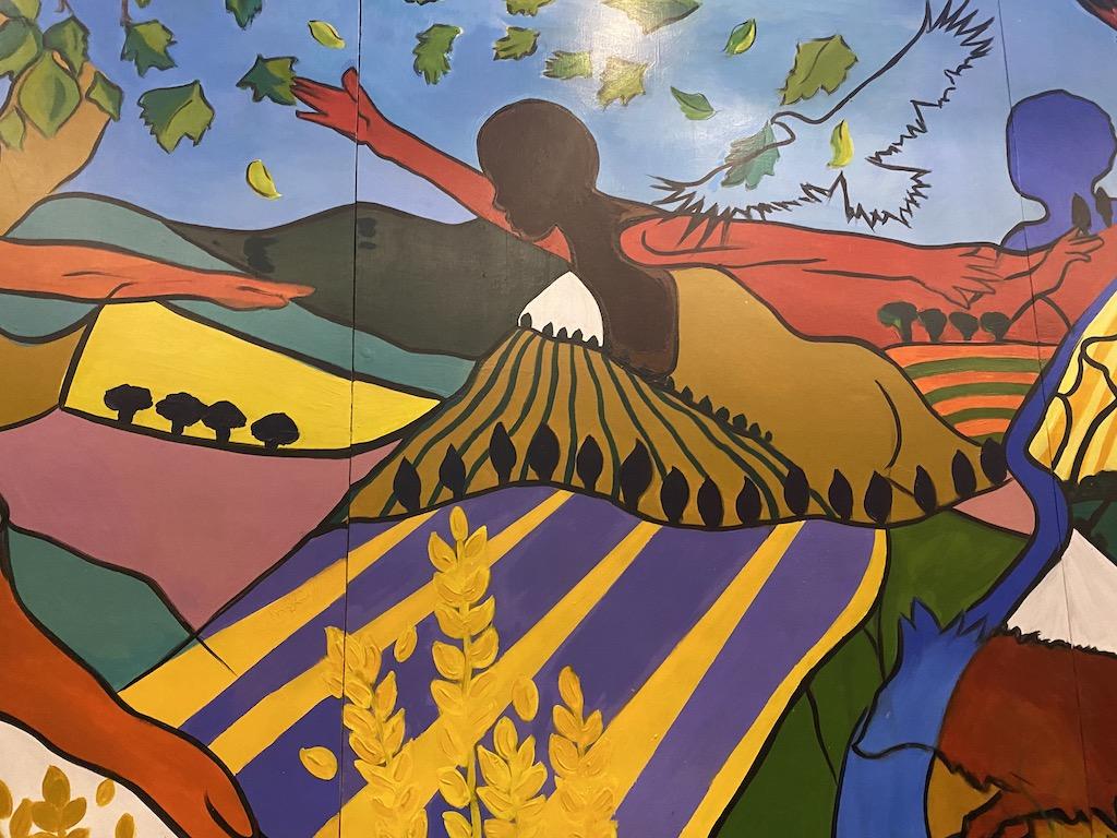 The Hawks Nest mural