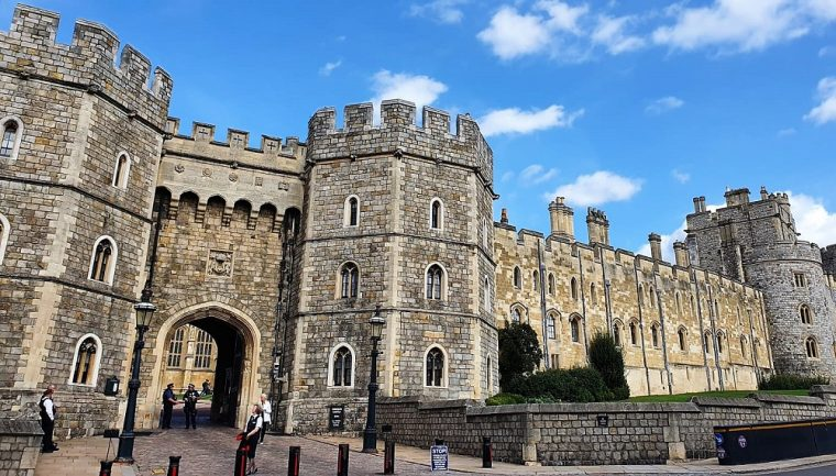 View of Windsor Castle from the town - Windsor Staycation