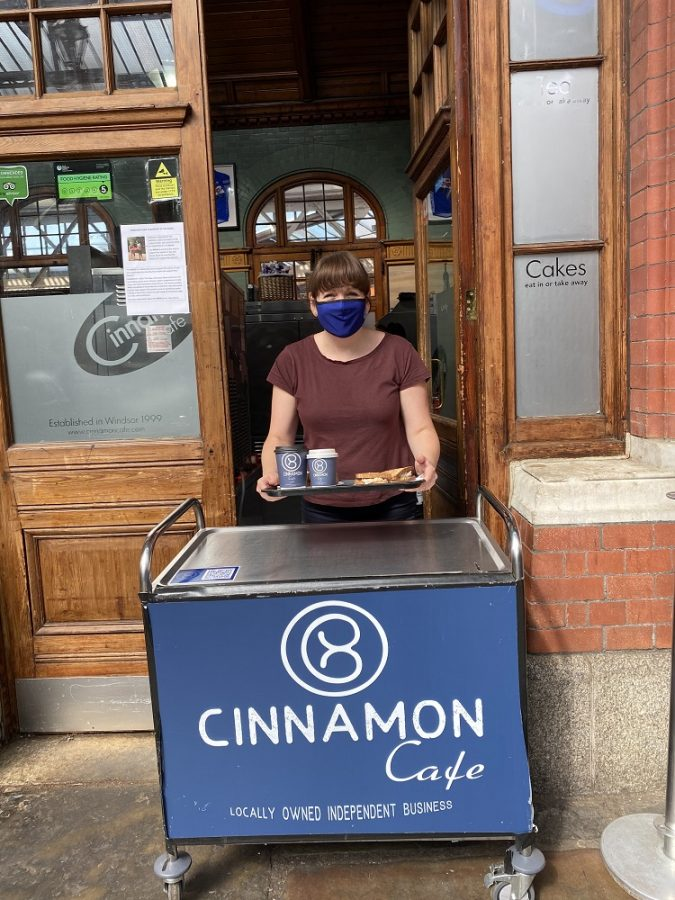 cinamon cafe Windsor