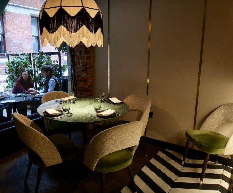 Interior Zuaya restaurant Kensington