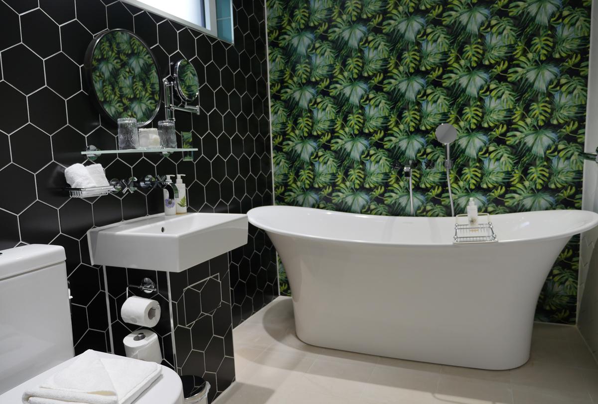 Bathroom Garden Room Hotel Indigo Bath