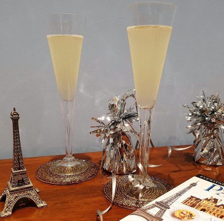 Grey Goose vodka champagne cocktails