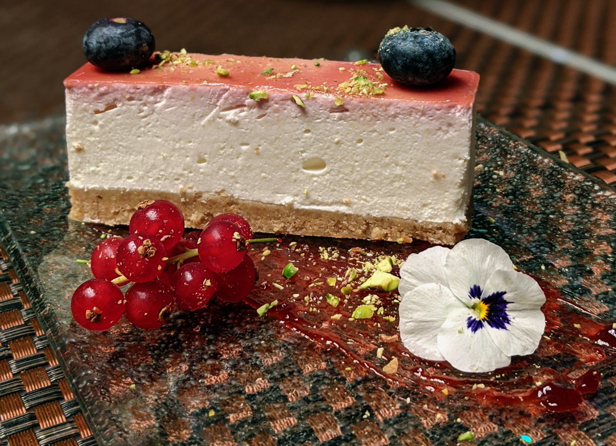 Cheesecake - Hankies Indian Restaurant