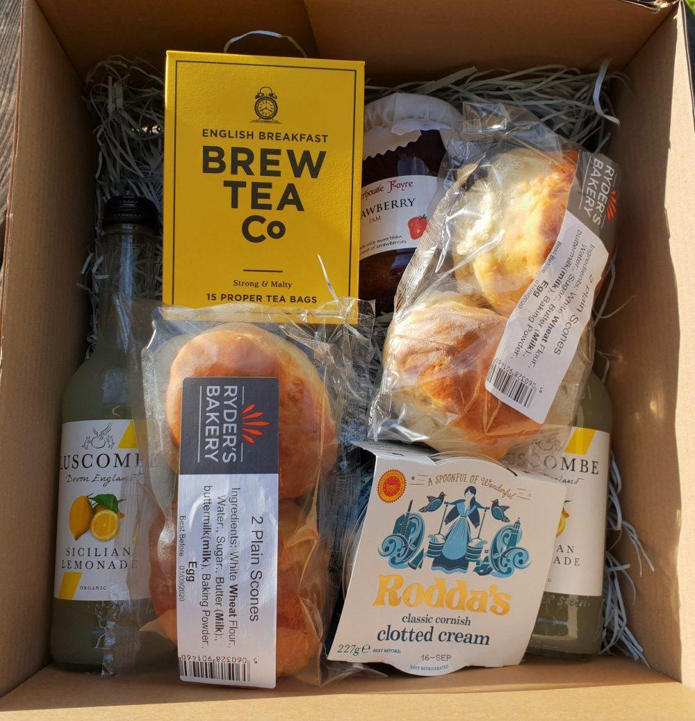 Devon Darts Farm takeaway tea