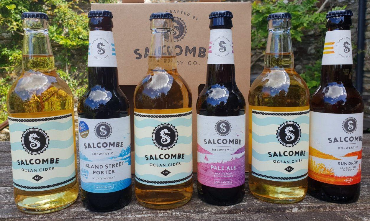 Devon, Salcombe Brewery ales-min