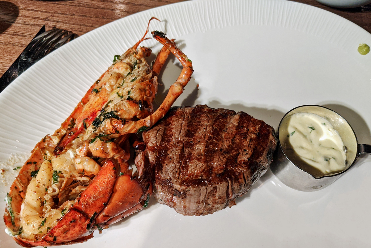 Fillet Steak with half a lobster - Hippodrome