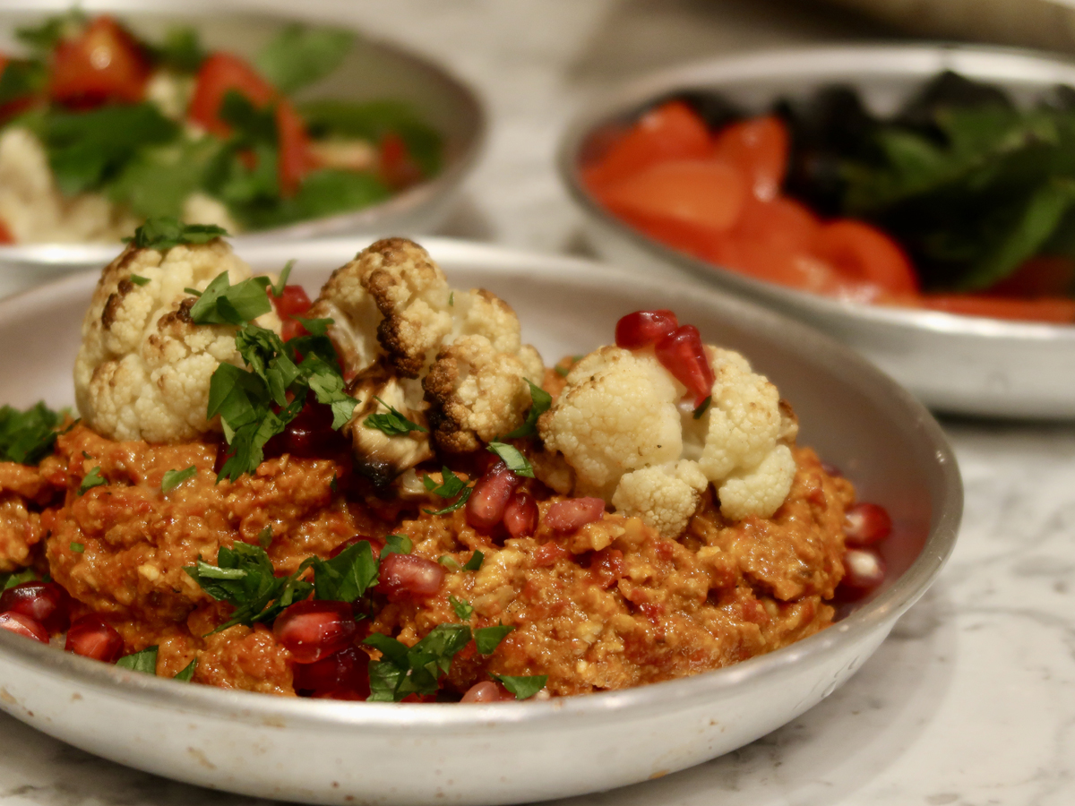 Muhammara at the Lebanese Bakery, Harrods