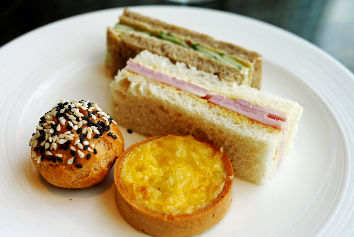 Sandwiches and savories - Ting at the Shard