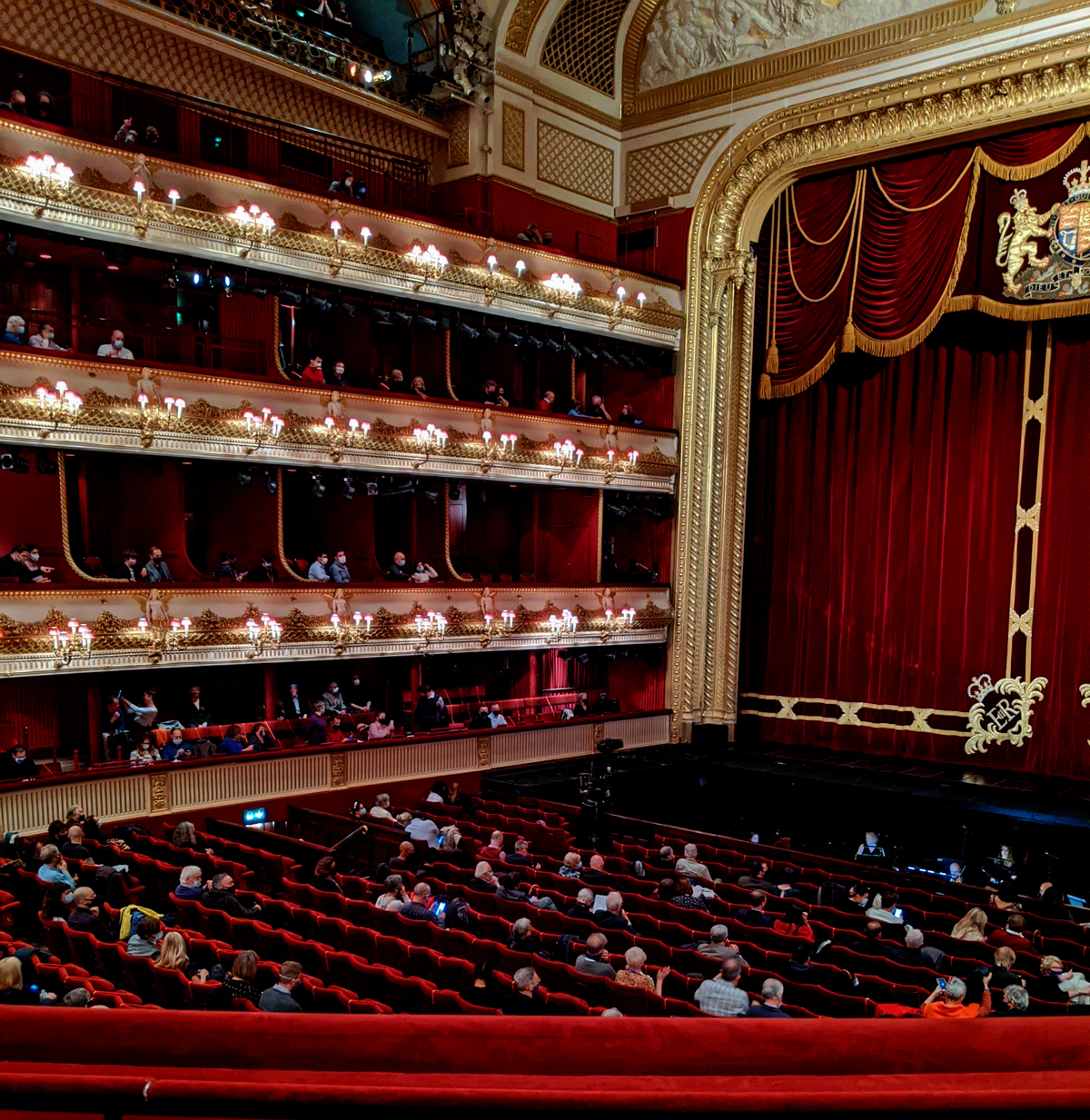 Socially Distanced Royal Opera House