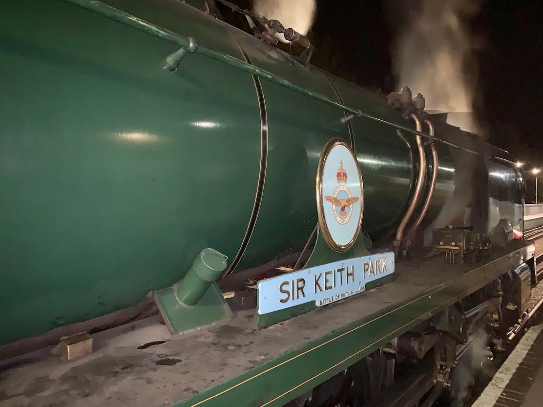 Spa Valley Railway Sir Keith Park 2