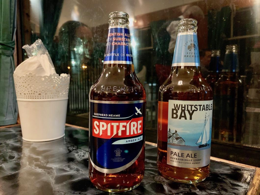 Spa Valley Railway beers