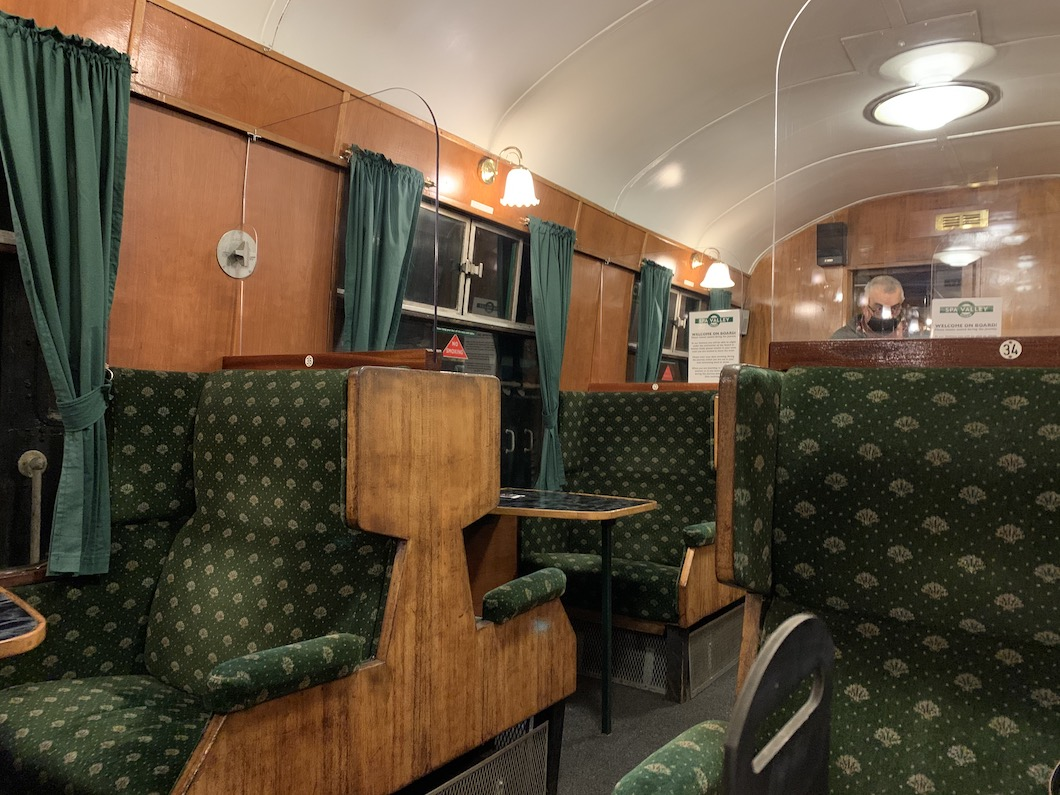 Spa Valley Railway carriage