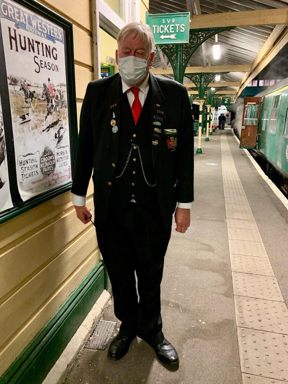 Spa Valley Railway conductor