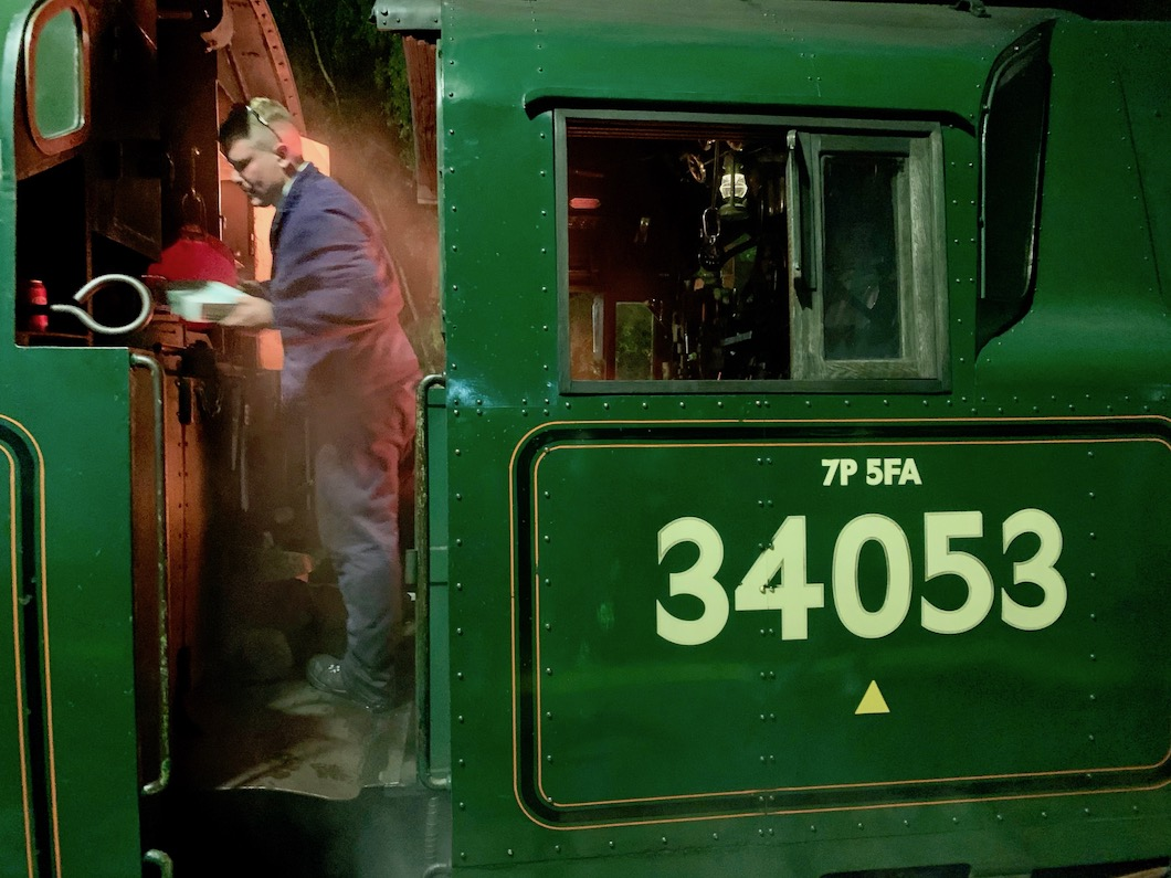 Spa Valley Railway driver