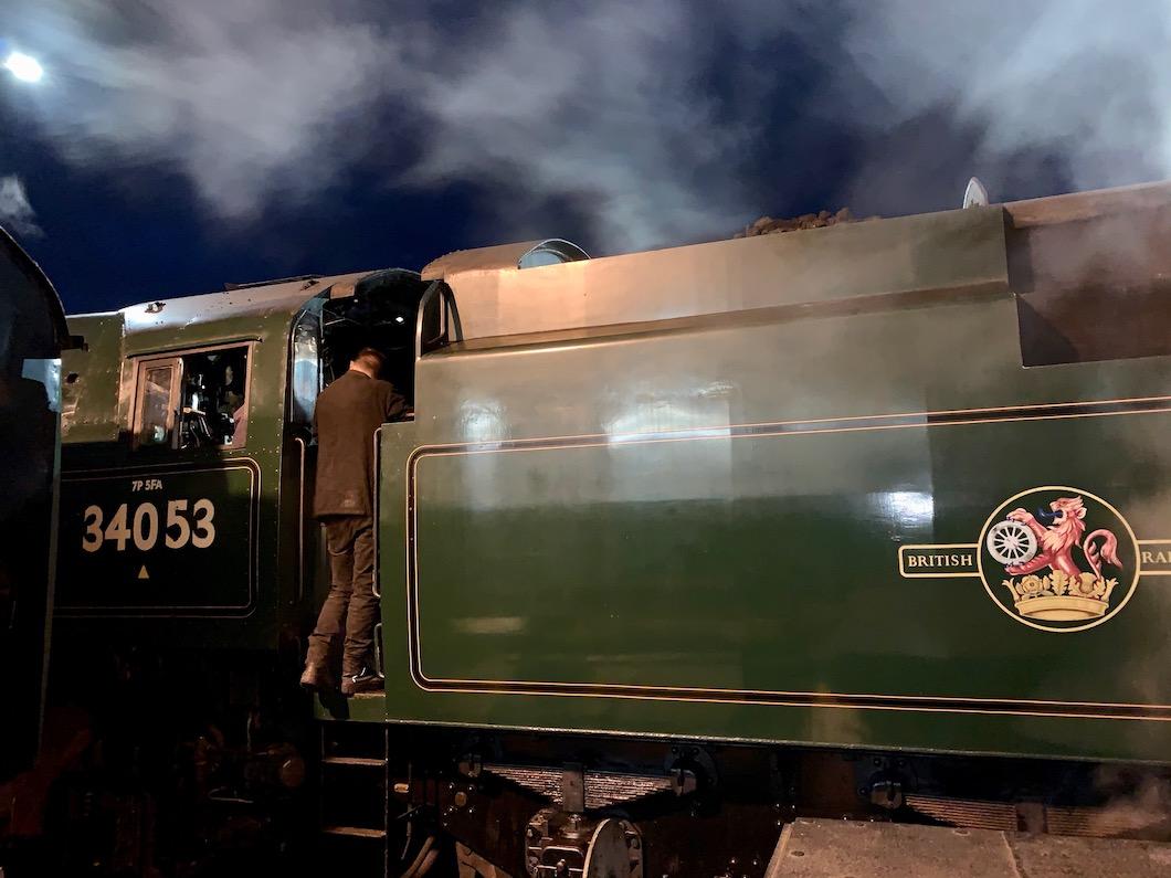 Spa Valley Railway loco 2