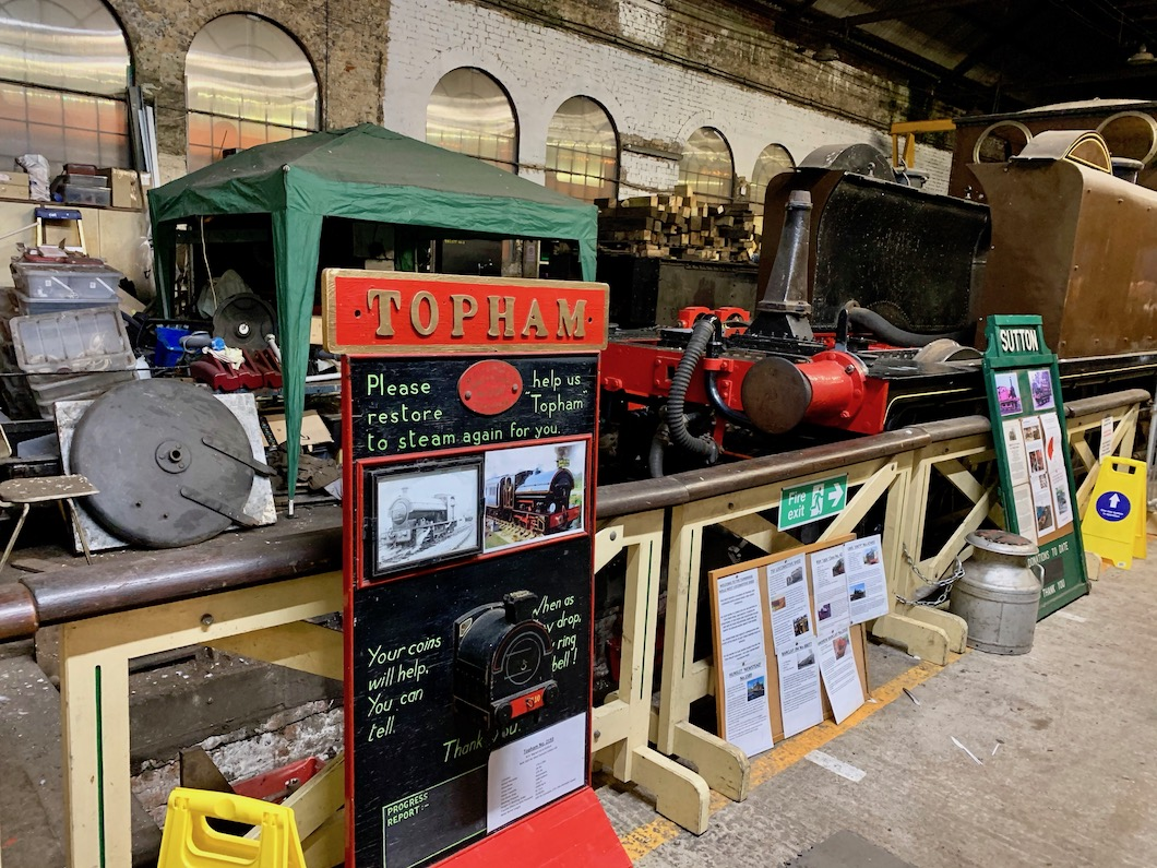 Spa Valley Railway shed