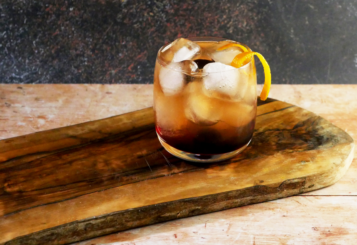 Tequila Old Fashioned with Storywood
