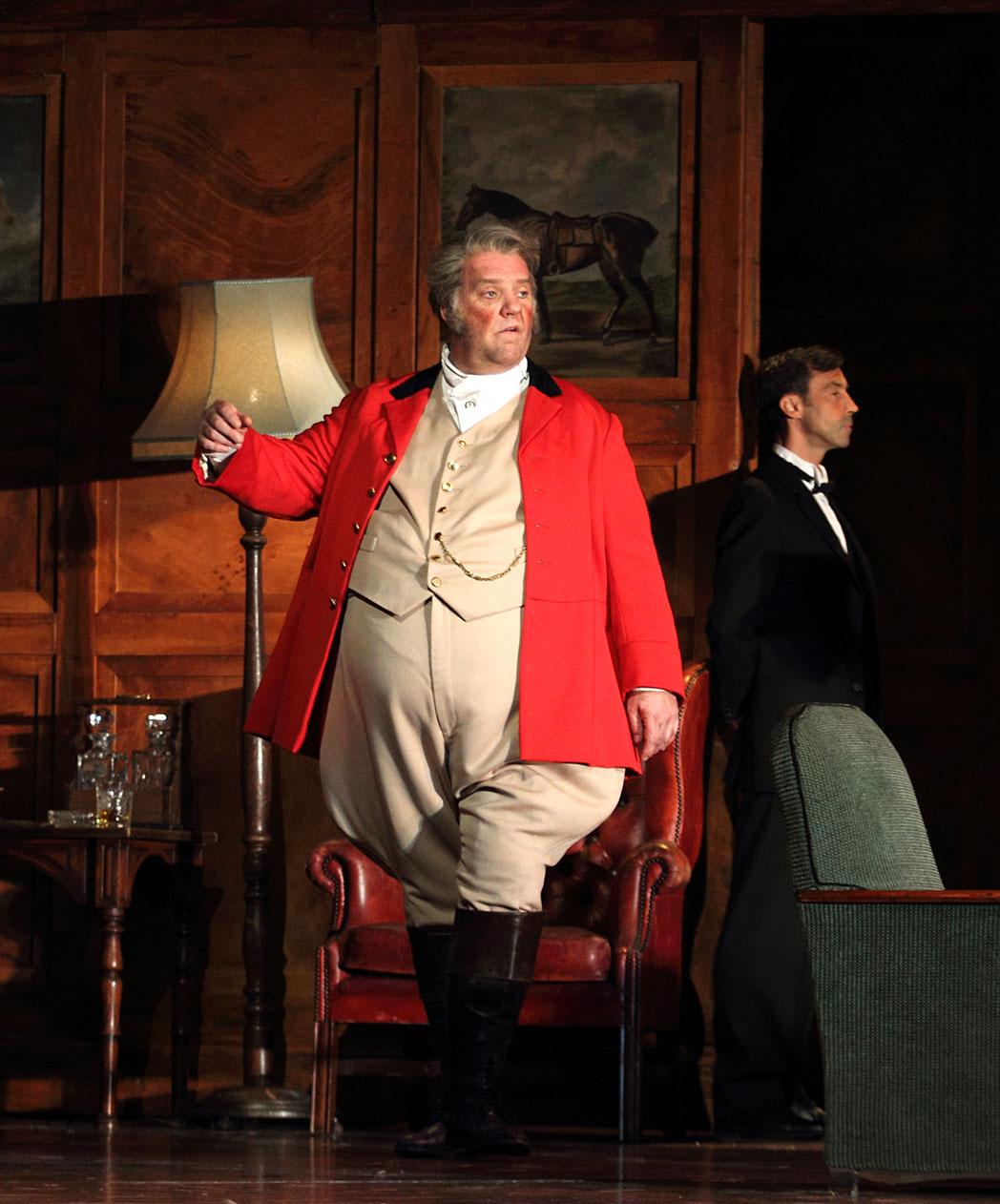 Bryn TErfel as Falstaff - Royal Opera House