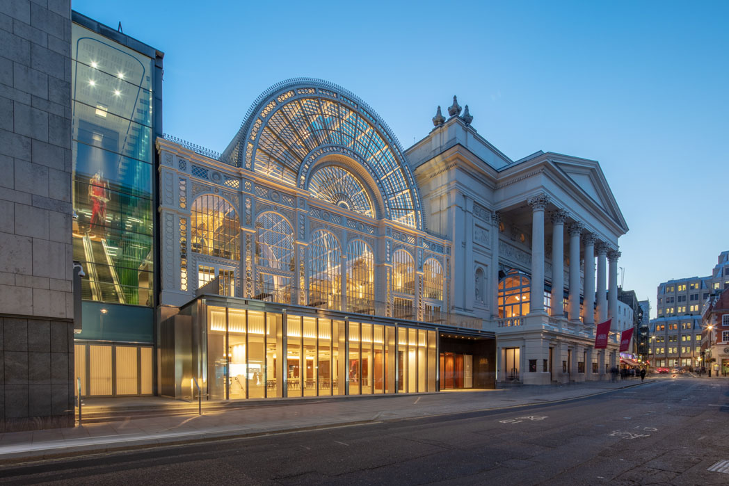 royal opera house exterior. (c) 2018, roh. photographed by luke hayes. (2)ROH