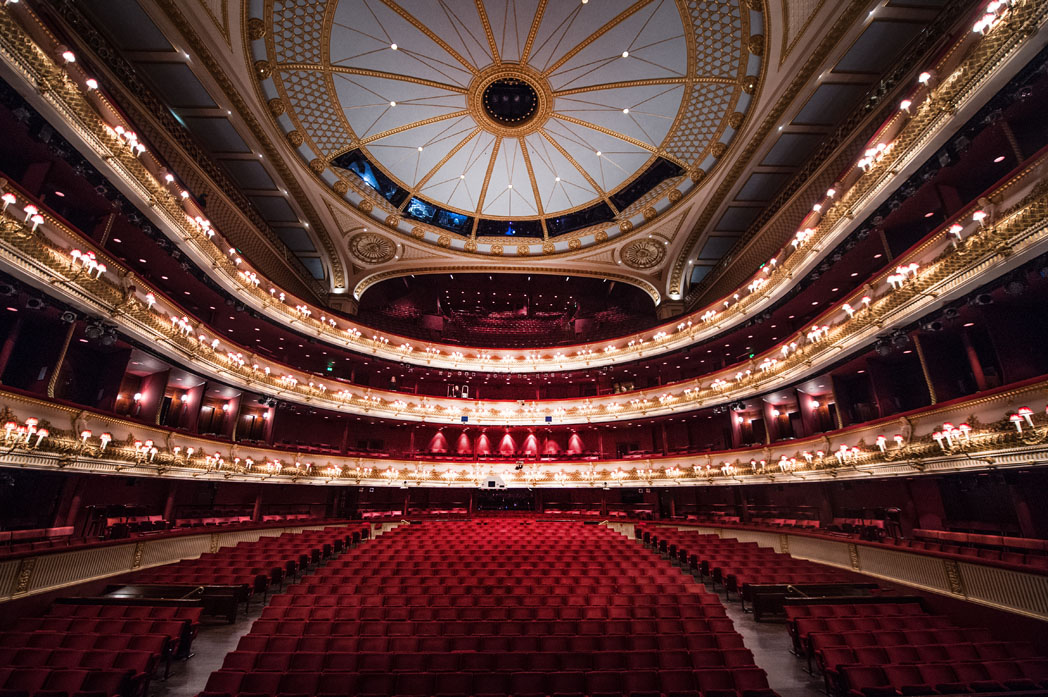 the auditorium of the royal opera house. (c) roh, 2016. photographed by sim canetty-clarke.ROH