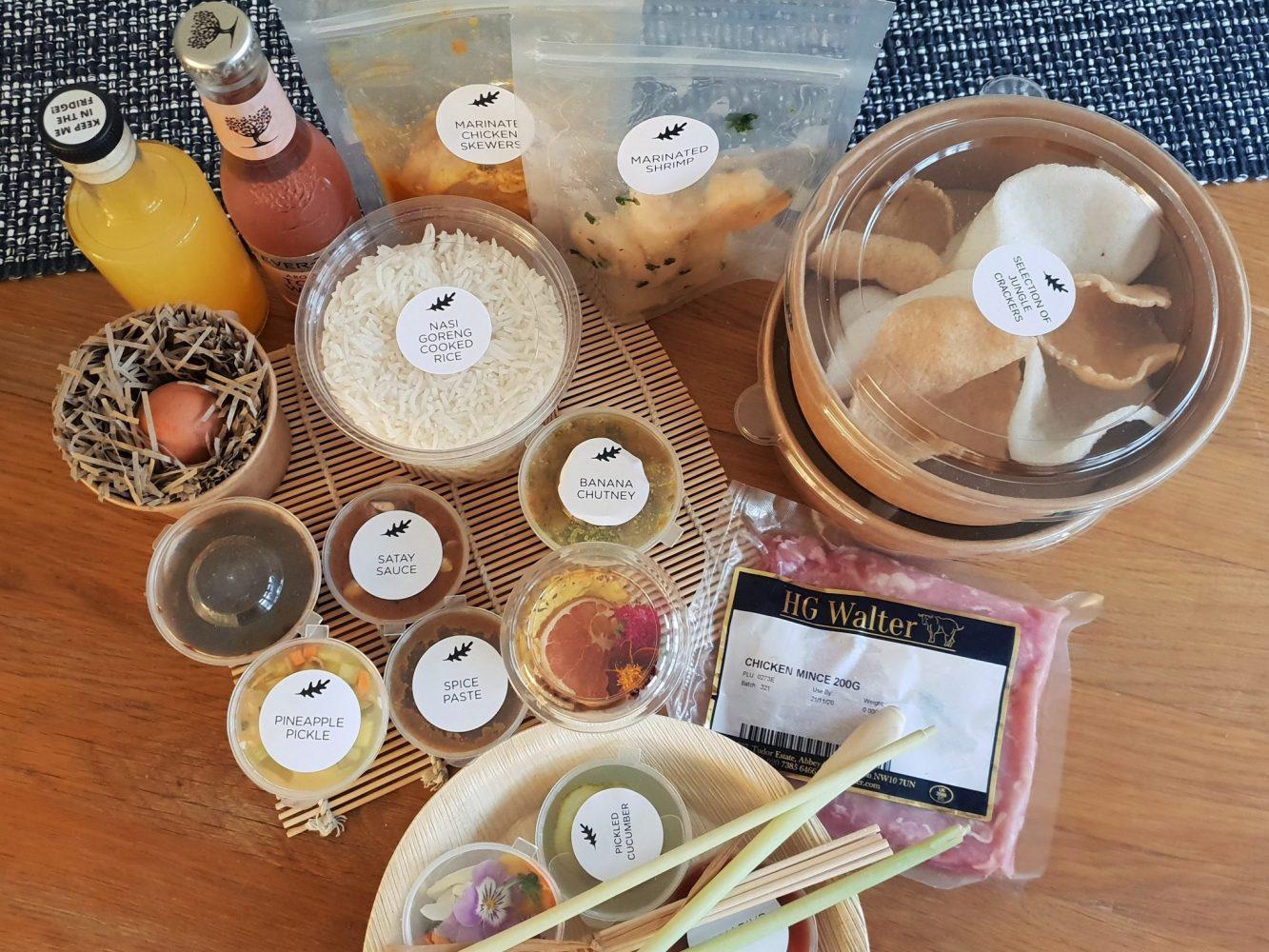 A Cook's Tour meal kit box