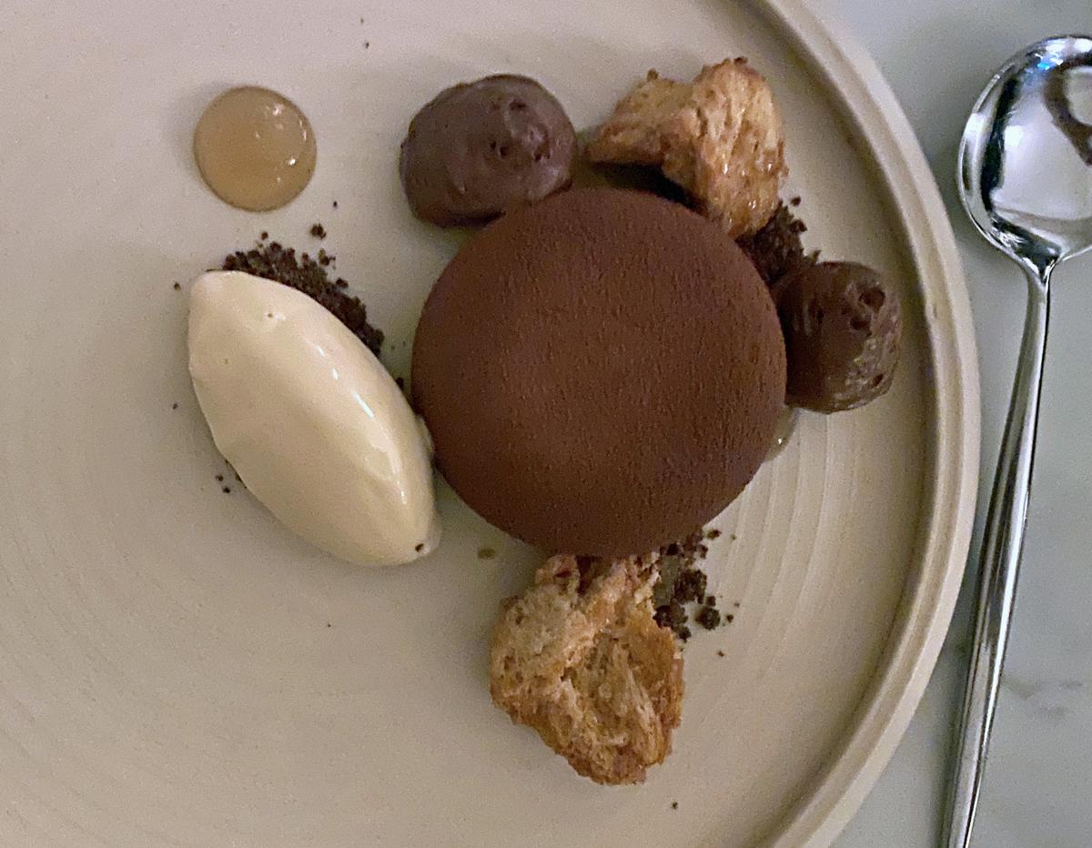 Adam Handling Chelsea Dessert
