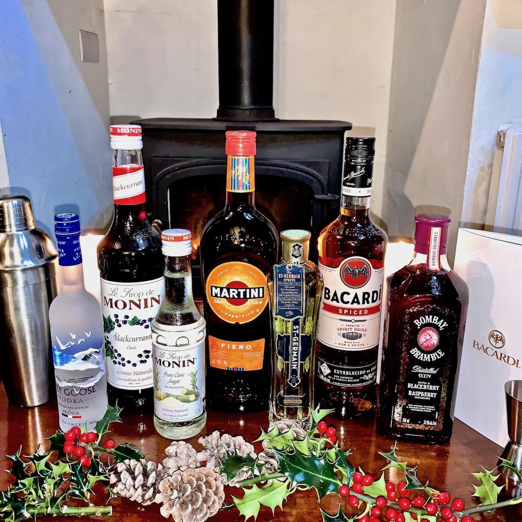 Bacardi Christmas Cocktail Showcase