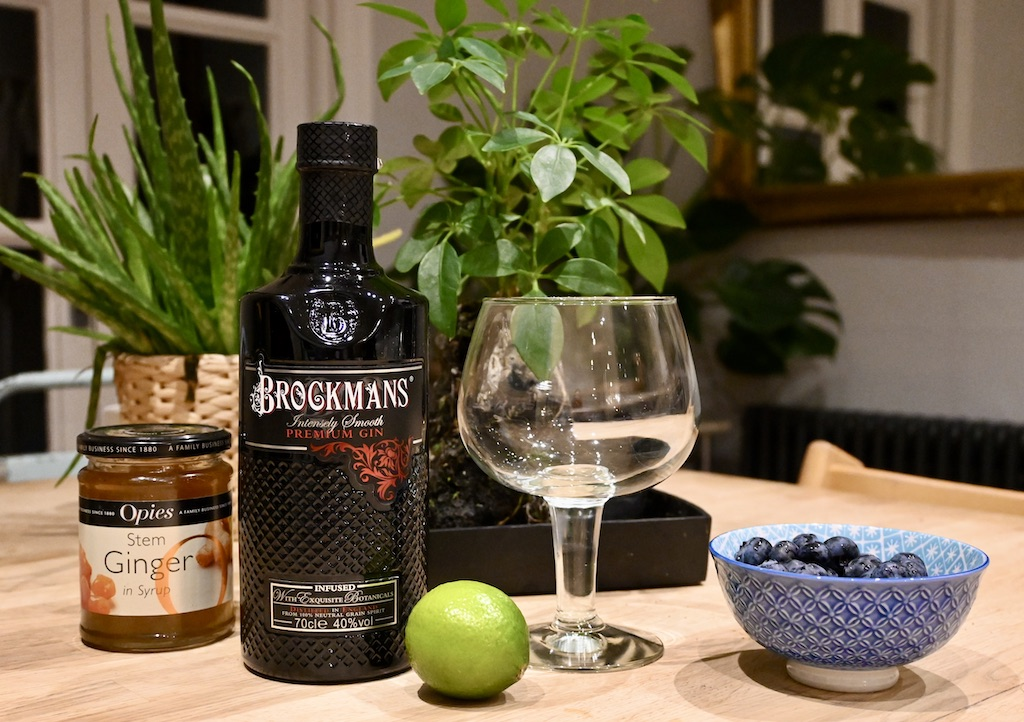 Brockmans GIn & GInger ingredients