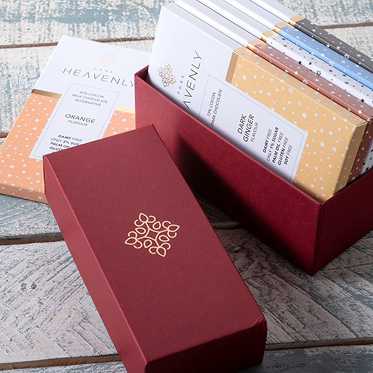 Claret Gift Box Heavenly Chocolate