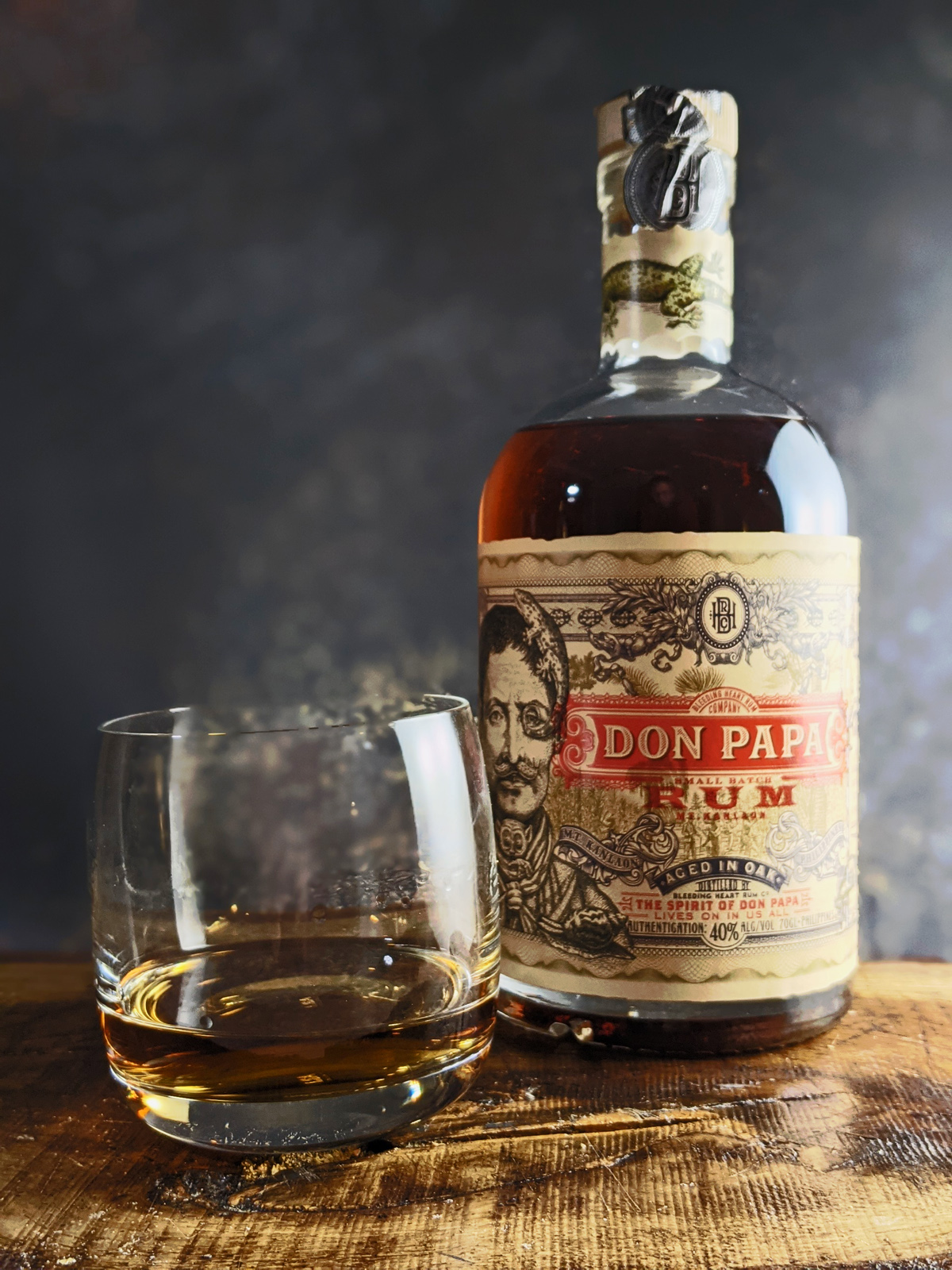 Don Papa Rum for Sipping