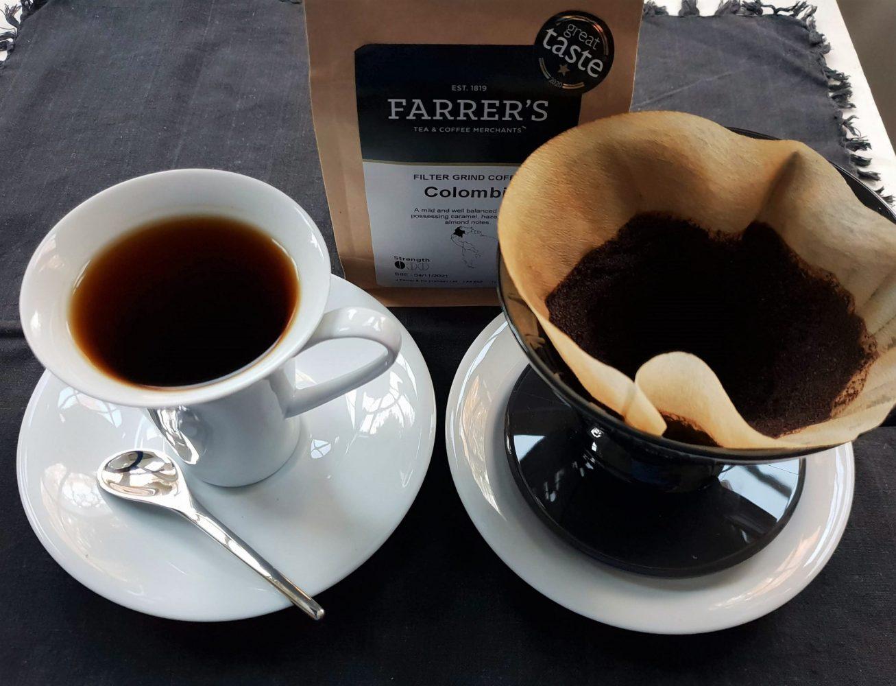 Farrer's Colombian coffee