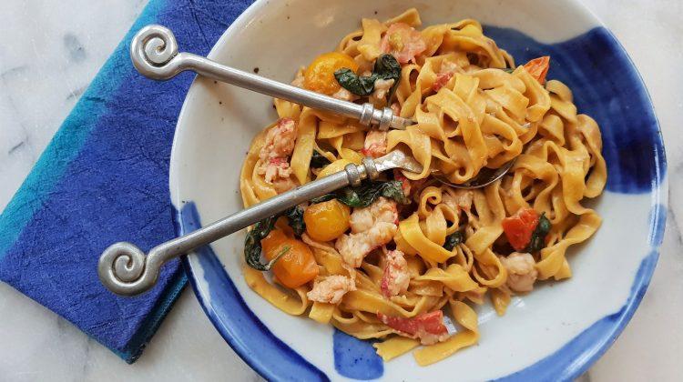 HAME lobster pasta