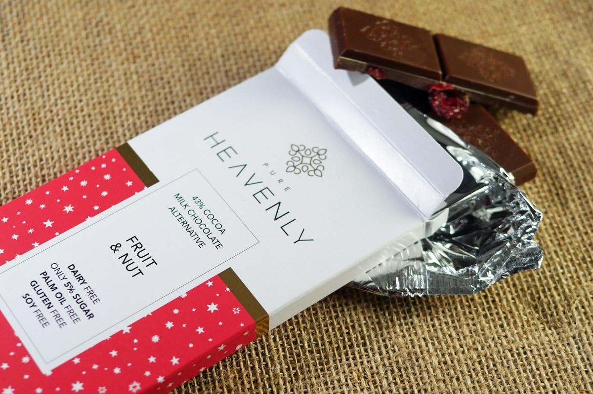 Heavenly Chocolate Vegan, Dairy and Gluten Free Bars