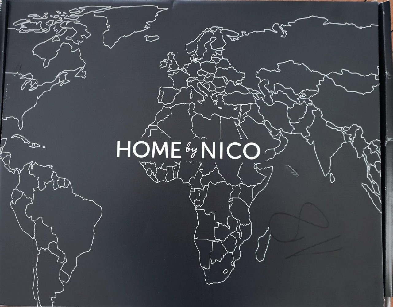 Home By Nico packaging
