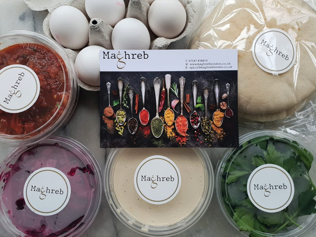 Maghreb shakshuka meal kit